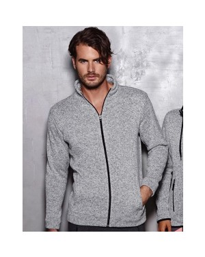 "Meeste kootud fliis ""Active Knit Fleece Jacket Men"" 270 g/m2"