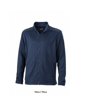 "Meeste kootud fliisjakk ""Men`s Knitted Fleece Jacket"" 320 g/m2"