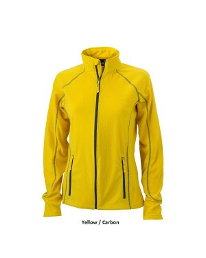 "Naiste õhuke fliisjakk ""Ladies Structure Fleece Jacket"" 190 g/m2"