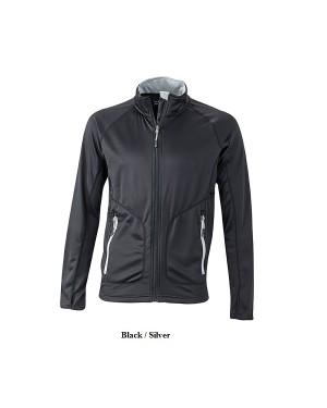 "Meeste elastne sport-fliisjakk ""Men`s Strechfleece Jacket"" 200 g/m2, polüester-elastaan"
