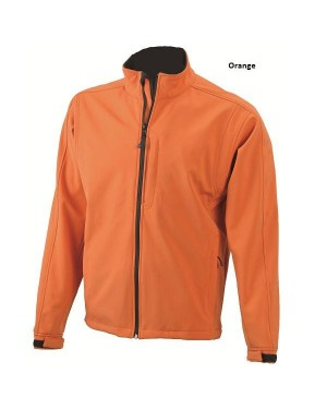 "Meeste pehme soft-shell jakk ""Men`s Softshell Jacket"" 330 g/m2"