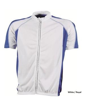 """Meeste jalgratturi T-särk pika lukuga """"Men`s Bike-T"""" 140 g/m2, polüester"""