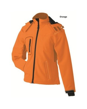 "Naiste 3-e kihiline jope kapuutsiga ""Ladies` Winter Softshell Jacket"" 330 g/m2"