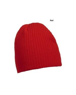 """Kootud müts """"Rib-Beanie"""" 50 g/m2, polüakrüül"""