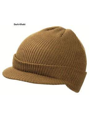 """Kootud nokamüts """"Knitted Cap with peak"""" 80 g/m2, polüakrüül"""