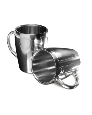"Metallst kohvikruusid ""Double-wall Coffee Mug"" 200 ml."