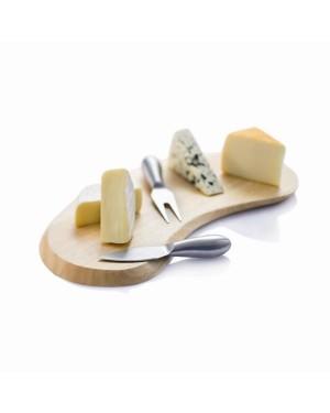 """Lõikelaud juustunugadega """"Organic"""""""