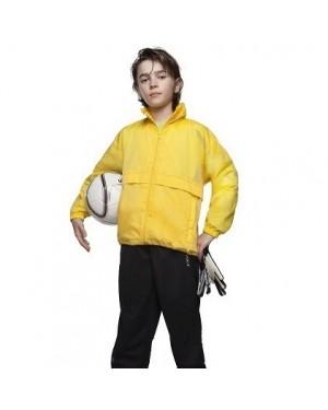 """Laste kilejope kapuutsiga, volditav kotti """"B&C Sirocco/Kid"""" 100% nailon"""
