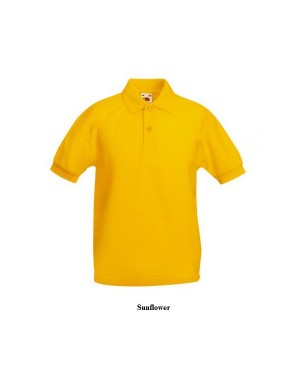 "Laste polo ""Kids Polo 65:35"" 180 g/m2, polüester-puuvill"