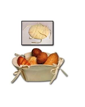 Leivakorv, puuvillasest kangast