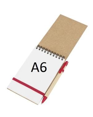 "Eco-märkmik pastapliiatsiga ""Recycle I"" A6"
