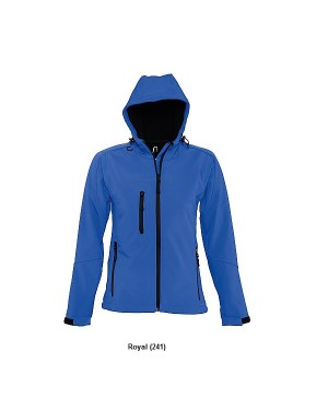 "Naiste pehme jakk kapuutsiga ""Replay Ladies Soft Shell"" 340 g/m2"