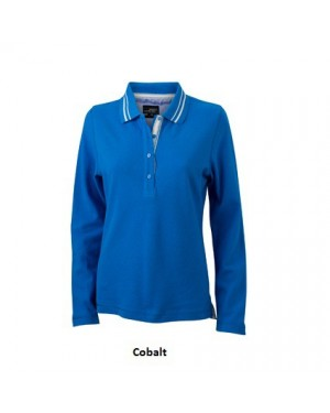 "Naiste polo ""Ladies Polo Long-Sleeved"" 200 g/m2, puuvill"