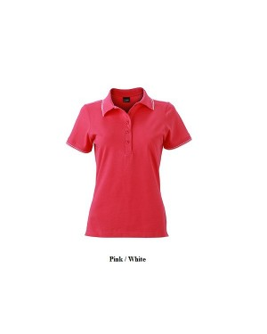 "Naiste polo "" Ladies Polo"" 190 g/m2, puuvill-elastaan"