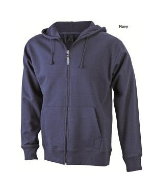 "Meeste pusa kapuutsiga ""Mens`s Hooded Jacket"" 320 g/m2"