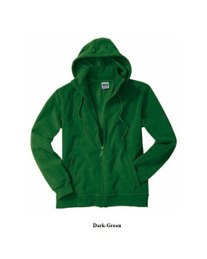 """Unisex fliis pika luku -ja kapuutsiga """"Microfleece Hooded Jacket"""" 280 g/m2"""