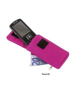 """Mobiilikott-rahakott karabiiniga """"Contact"""""""
