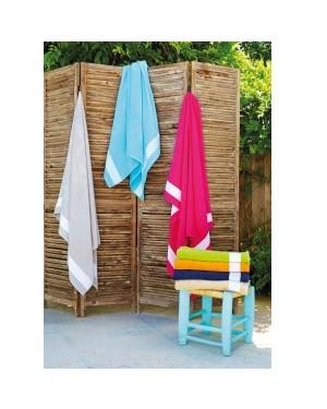 """Rannalina 100 x 160 cm """"Velour Beach Towel"""" 400 g/m2"""