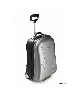 Reisikohver, plastikust, 37 x 53,3 x 24 cm.