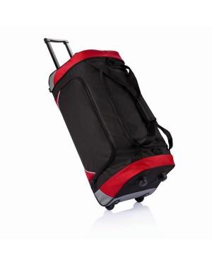 "Reisikott-käru helkurmotiividega ""London weekend bag with trolley"""