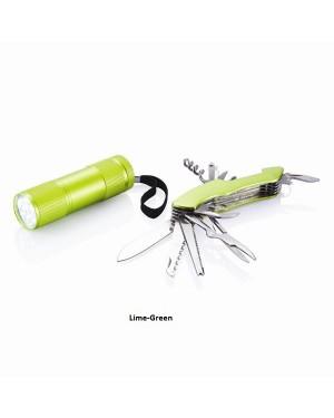"""Multifunktsionaalne taskunuga, LED-lamp, komplekt """"Quattro"""""""