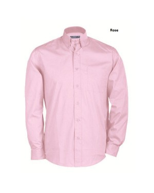 "Meeste pikkade varrukatega triiksärk ""Buttondown Shirt Long"" 135 g/m2"