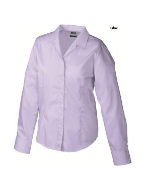 """Naiste triikimist mittevajav pluus pikkade varrukatega """"Ladies` Business Blouse Longsleeve"""" 120 g/m2"""