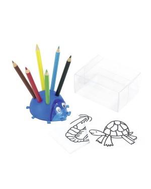 """Värvilised pliiatsid teritajaga """"Ladybug"""""""