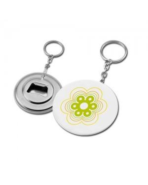 """Avaja-võtmehoidja, plekist """"Button-V"""" Ø 5,6 cm"""
