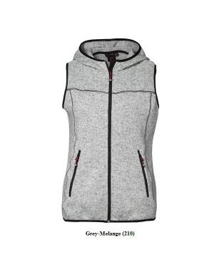 """Naiste kootud vest """"Knit Fleece Vest"""" 300 g/m2"""