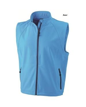 "Meeste vest ""Men`s Softshell vest"" 270 g/m2"