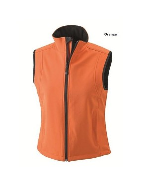 "Naiste pehme soft-shell vest ""Ladies` Softshell Vest"" 330 g/m2"