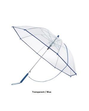 """Vihmavari, läbipaistev, õlapaelaga """"Panoramic"""" Ø 96 cm"""