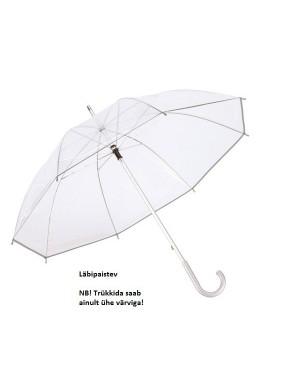 "Vihmavari, läbipaistev ""Panoramix"" Ø 101 cm"
