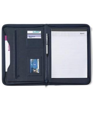 "Dokumendimapp, PU-nahast ""Zipped folder A4"""