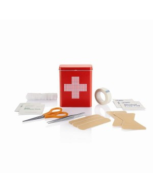 "Esmaabi komplekt ""First aid tin box"""