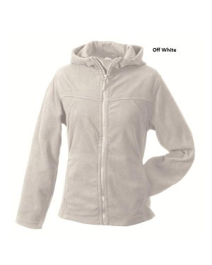 "Naiste mikrofliisist jakk kapuutisga ""Girly Micro Fleece Jacket Hooded"" 280 g/m2"