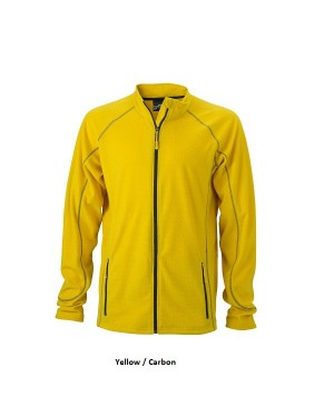 "Meeste õhuke fliisjakk ""Men`s Structure Fleece Jacket"" 190 g/m2"