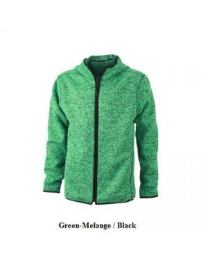 """Meeste kootud fliisjakk """"Men`s Knitted Fleece Hoody"""" 320 g/m2"""
