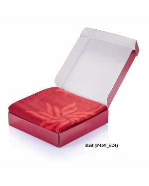 "Fliistekk kinkekarbis ""Fleece Blanket in gift box"" 220 g/m2"
