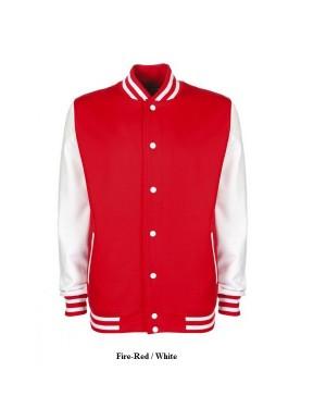 "Unisex sportlik jakk ""Varsity Jacket"", 300 g/m2, puuvill-polüester"