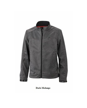 "Meeste pehme Soft-Shell jakk ""Men`s Softshell Melange Jacket"" 360 g/m2"