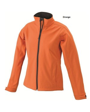 "Naiste pehme soft-shell jakk ""Ladies` Softshell Jacket"" 330 g/m2"