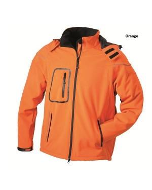 "Meeste 3-e kihiline jope kapuutsiga ""Men`s Winter Softshell Jacket"" 330 g/m2"