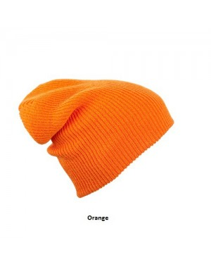 "Kootud müts ""Knitted Long Beanie"" 50 g/m2, polüakrüül"