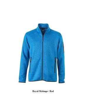 """Meeste kootud fliisjakk """"Men`s Knitted Fleece Jacket"""" 280 g/m2, polüester"""