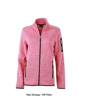 """Naiste kootud fliisjakk """"Ladies Knitted Fleece Hoody"""" 280 g/m2, polüester"""