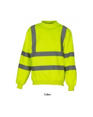 "Unisex ohutus pusa ""Safety Sweatshirt Class 3"" 280 g/m2, polüester"