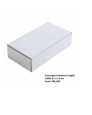 """Kartongist kinkekarp mälupulgale """"Ruut"""" 9 x 3 x 2 cm"""