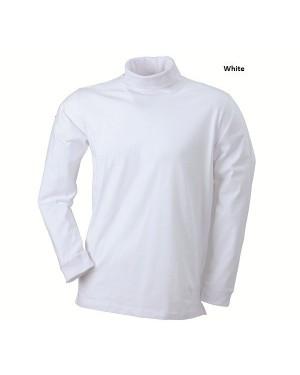 "Unisex kõrge kaelusega polo ""Rollneck Shirt"" 180g/m2"